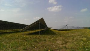 Pannelli fotovoltaici in campo