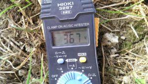 Misura di tensione su pannello fotovoltaico!
