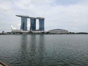 Marina Bay Sand, foto fatte dalla baia!