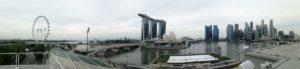 Panoramica della Baia fatta dalle gradinate di fronte al Float sulla baia!