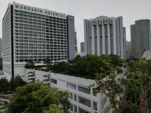 Foto degli hotel Mandarin Oriental e Pan Pacific!