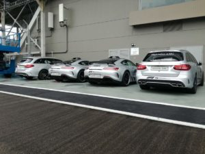 Le 4 Safety Car allestite e pronte!