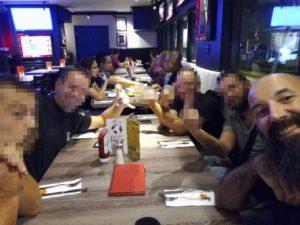 Cena con i colleghi