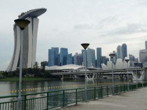 Marina Bay Sands da dietro
