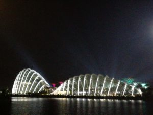 Garden By The Bay in notturna!