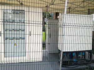 Quadri Elettrici dentro una delle PGU Area