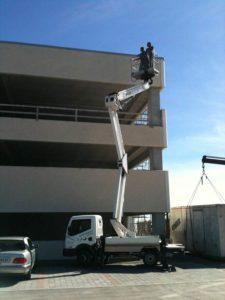 Manutenzione di un impianto fotovoltaico di terze parti su un tetto