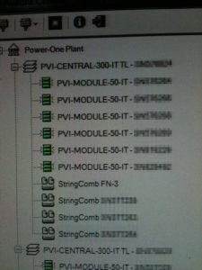 Impianto sia con Inverter di stringa che inverter modulari a rack. Software di monitoraggio e analisi guasti