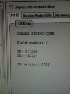 Software di monitoraggio inverter