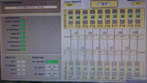 Software di monitoraggio di tutti i parametri della String-Comb e nello specifico si vede la situazione dei fusibili e le correnti relative!