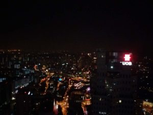 Foto fatte dal ONE ALTITUDE uno dei grattacieli più alti di Singapore!