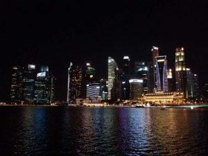 Serata di scatti seri allo skyline di Singapore!